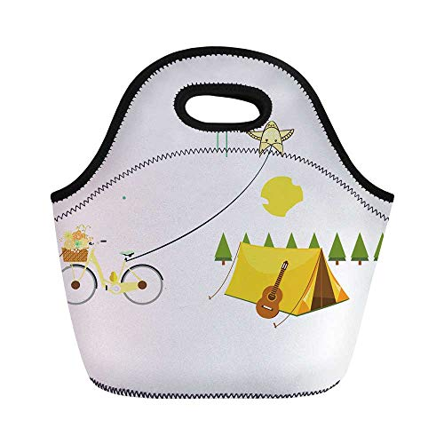 Kite Durable Lunch Bag for School Office,11.0