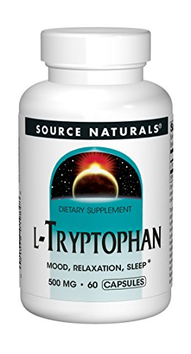 Source Naturals L-Tryptophan 500mg, 60 Capsules