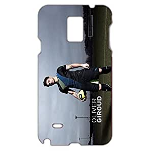 Charming Sexy Style Famous Football Player Oliver Giroud 3D Protective Hard Plastic Phone Case For Samsung Galaxy Note 4