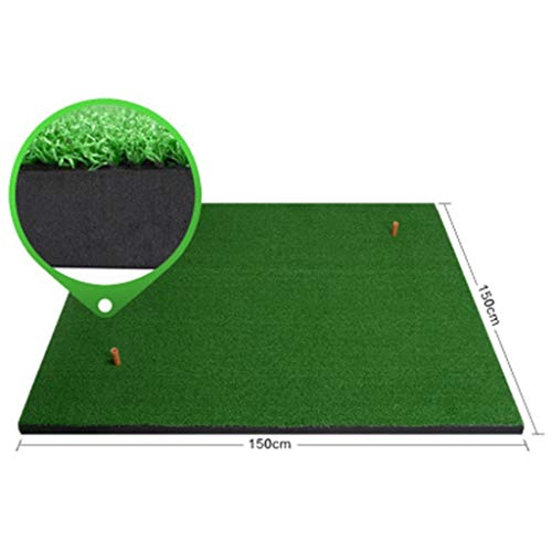DQMSB Golf Mats Indoor Golf Practice Mats 1.5 X 1.5m Exercise mats