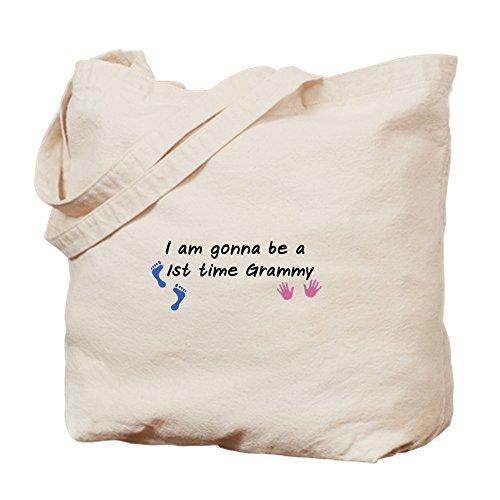 CafePress–primera vez Grammy–Gamuza de bolsa de lona bolsa, bolsa de la compra Small caqui