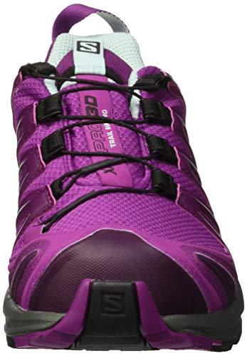 Purple Violet De eggshell 3d Salomon Trail Blue Gtx Xa dark Pro hollyhock Femme Chaussures UPxwC1qT