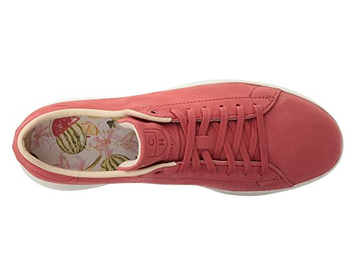 Cole Haan Women's Grandpro Tennis Fashion Sneaker, New Mineral Red/Floral, 7 B US