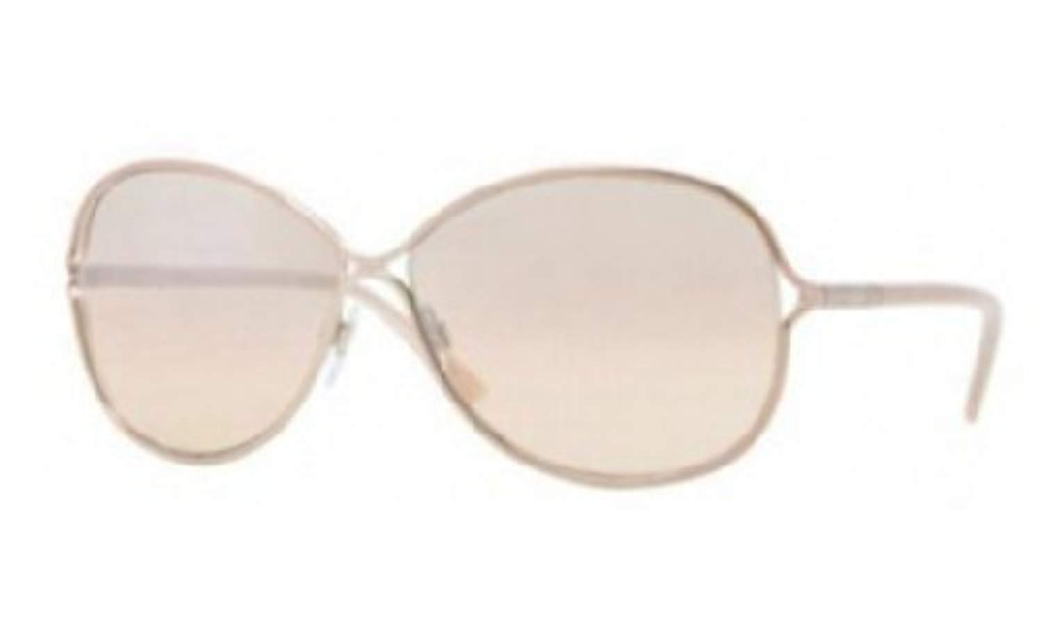 89a8ff95d4a0 Burberry Sunglasses - 3066 Frame  Rose Gold Lens  Beige Gradient Silver  Mirror  Amazon.ca  Sports   Outdoors