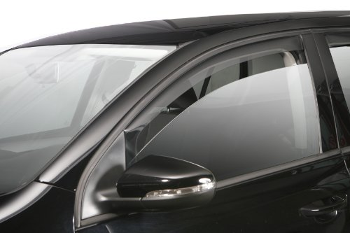 ClimAir Window Visors Compatible with Opel Corsa D/E 3 Doors 2006-