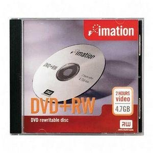 Imation Corp 1PK DVD+RW 4.7GB DISC 4X WITH ( 17153 )