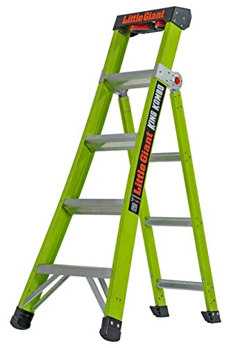 Little Giant Ladder Systems 13580-001 King Kombo Professional 5', Green
