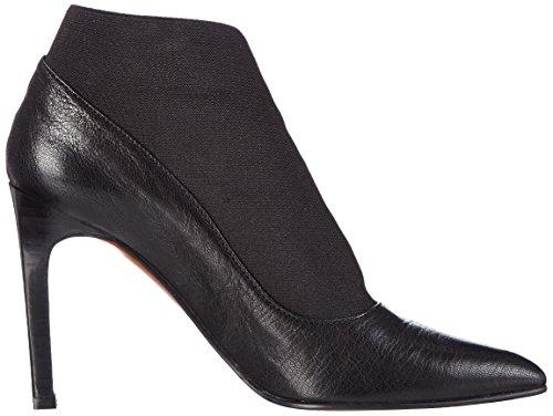 Paco Gil P2909 - botas de cuero mujer negro - negro