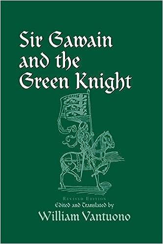 3281e4c1 Amazon.com: Sir Gawain and the Green Knight (9780268017675): William  Vantuano: Books