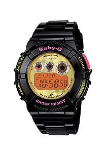 CASIO BGD1211ER - Reloj de cuarzo con correa de resina para mujer, color negro