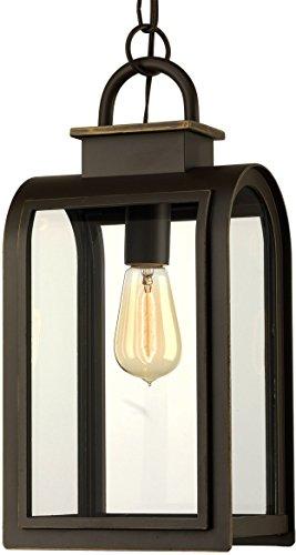 Luxury Art Deco Outdoor Pendant Light, Medium Size: 16
