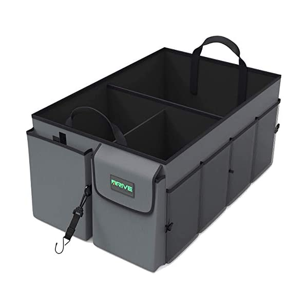 41Tmapzj6fL Drive Auto Products Kofferraum Organizer - Praktische Kofferraumtasche mit Fächern - Einkaufskorb, Aufbewahrungsbox für…