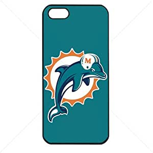 NFL American football Miami Dolphins Fans Case For HTC One M7 Cover PC Soft (Black)