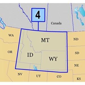 Garmin TOPO! West-North Mountains U.S. Map microSD Card