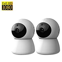DophiGo 1080P HD Dome 360  Wireless WiFi...
