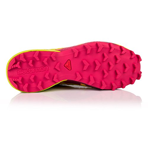 bird W 000 Speedcross Vert De Nocturne Of Salomon Gtx Trail 4 Femme Chaussures Par lime virtual Pink Green RIn6S