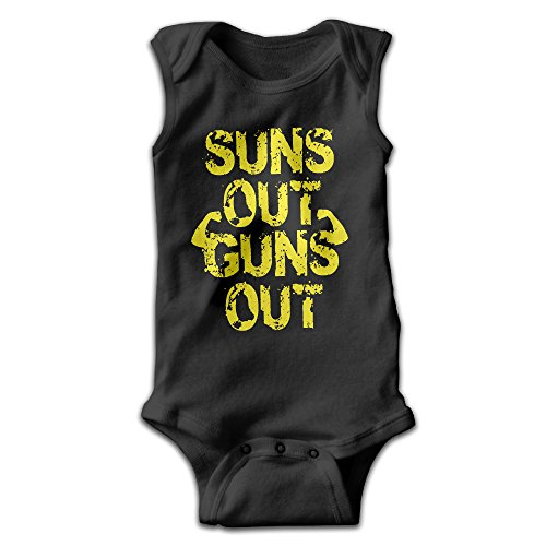 Jozie Suns Out Guns Out None Sleeve Jump Romper, Onesie Climbing Clothes UNISEX