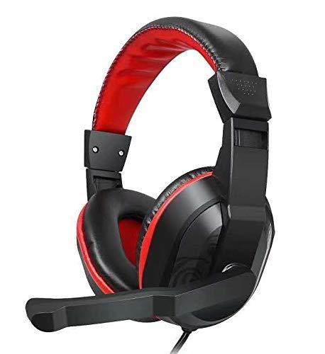 Gizmore Giz MH421 Srround Sound Music, Volume Control Noise Isolation Corded Headphones with Mic