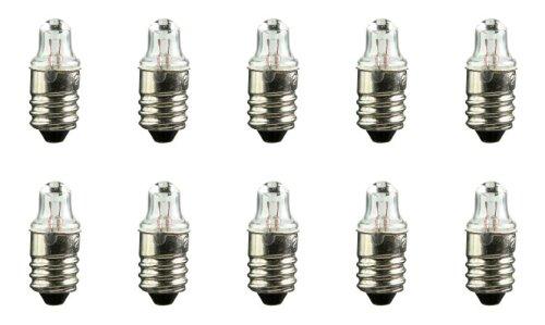 (Pack of 10 #222 Lamp Bulb Flashlight/Toy 2.25V, 0.25A Lightbulb)