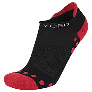 Short Compression Socks, HAPYCEO Blister Resistant Sports Low Cut Socks for Running, Golf, Travel, Recovery Women and Men