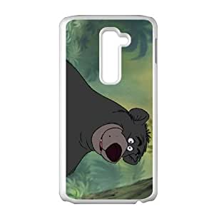 The Jungle Book Character Baloo Bear LG G2 Cell Phone Case White MUS9194029