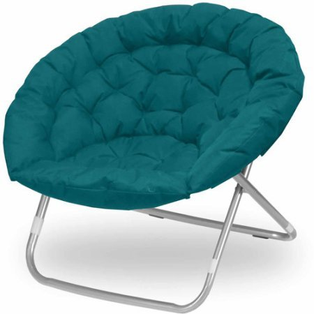 Oversized Moon Chair, Multiple Colors Teal