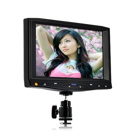BW® Cámara réflex (7, HD monitor con HDMI 1080P AV 10 horas Tiempo ...