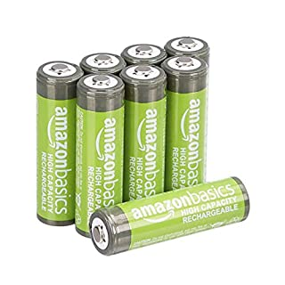 AmazonBasics AA High-Capacity Rechargeable Batteries (8-Pack) Pre-charged - Packaging May Vary (B00HZV9WTM) | Amazon price tracker / tracking, Amazon price history charts, Amazon price watches, Amazon price drop alerts