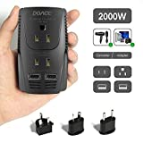 2019 Upgraded DOACE C11 2000W Travel Voltage