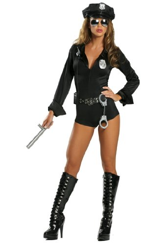 Law Enforcement Costumes (Lady Law Adult Costume - Small/Medium)