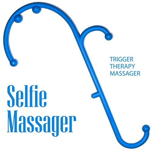 LiBa Back and Neck Massager for Trigger Point - Self Massage Tool