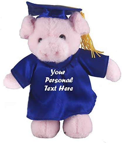 Personalized Plush Graduation Teddy Bear Put Year Name or Whatever Purple