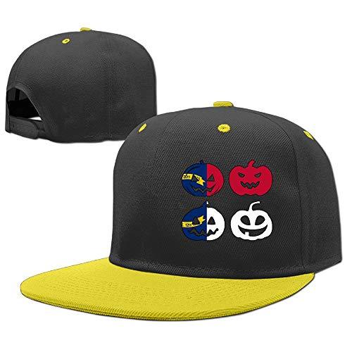 Unisex Kids Adjustable Hip Hop Baseball Hat North Carolina Halloween Pumpkin Head Cotton Sports Hat]()