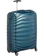 Samsonite Lite-Shock Spinner L Valise, 75 cm, 98.5L, Bleu (Petrol Blue)