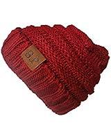 Zhanmai 4 Packs Knitted Baby Hats Caps Cute...