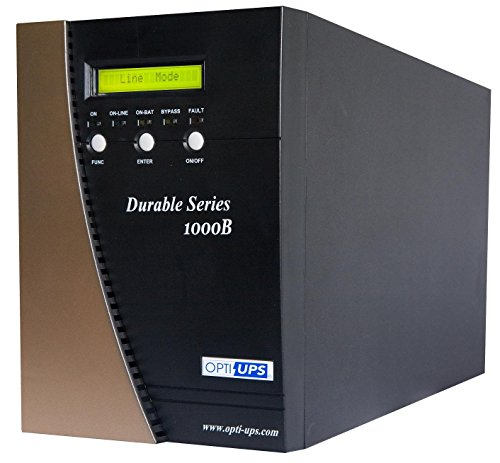 OPTI-UPS DS1000B Durable Series 6-Outlet Online Uninterruptible Power Supply, 700W by OPTI-UPS