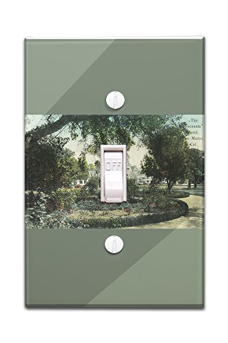 san-mateo-california-exterior-view-of-the-peninsula-hotel-light-switchplate-cover