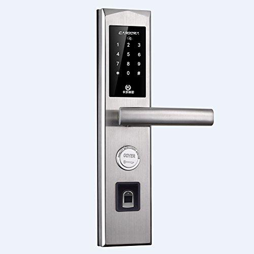 Bluetooth Fingerprint Biometric Door lock With Keyless Keypa