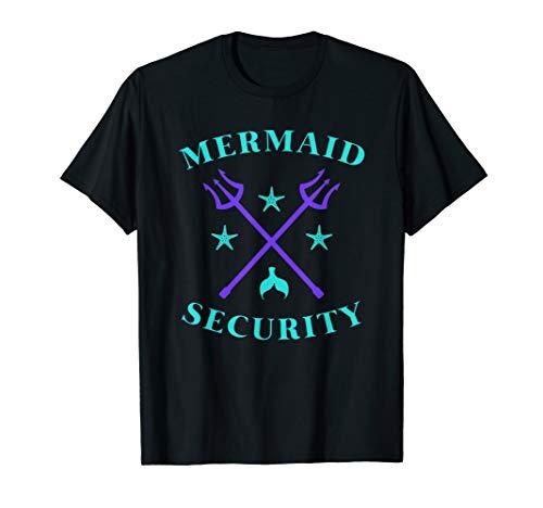 Merman Mermaid Security T-Shirt ()