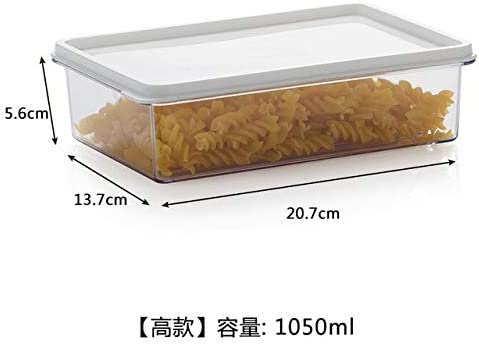 RYBJH Cajas De Plástico para Almacenamiento De Alimentos para El ...