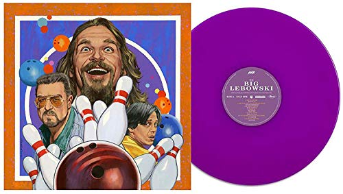 The Big Lebowski (Original Motion Picture Soundtrack) - Exclusive Limited Edition Jumpsuit Purple Vinyl LP [Condition-VG+NM]]()