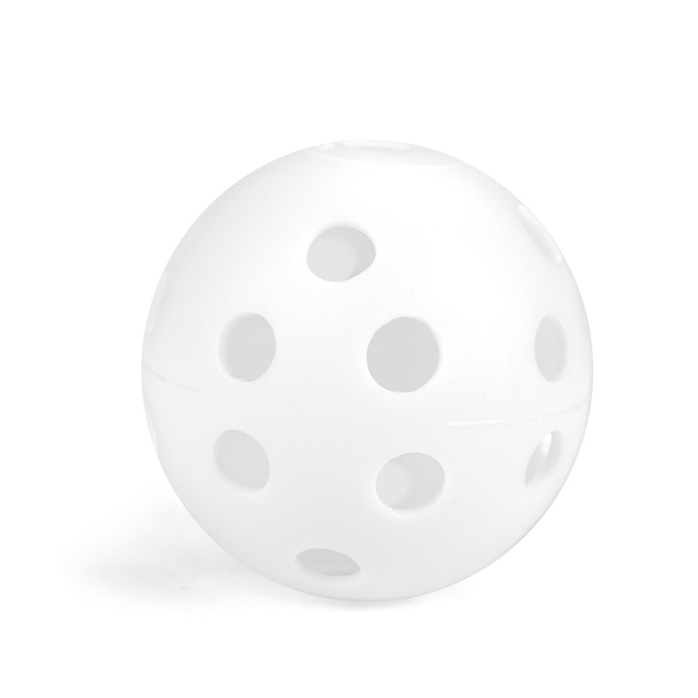 GOGO Plastic Baseball for Practice, 72mm Wiffle Balls, Pack of 12
