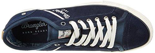 Wrangler Starry Low Suede, Men's Low-Top Sneakers Blue - Blau (17 Dk.navy)