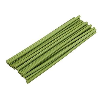 eDealMax 25 piezas de la luz verde de 7 mm Diámetro de soldadura de hierro fundido