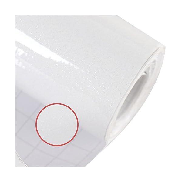 5M*61CM bianco Pellicola adesiva Pellicola autoadesiva decorativa per mobili 3 spesavip