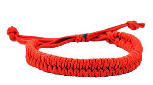 Hinky Imports Draw String Red String Bracelet, Good for Wealth and Love, Kabbalah Red String Bracelet