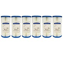 Hydronix HYDRONIX_SPC_45_1005_6_PACK Pentek ECP5-BB 5 Micron Whole House Sediment Filter 6 Pack, Single Unit