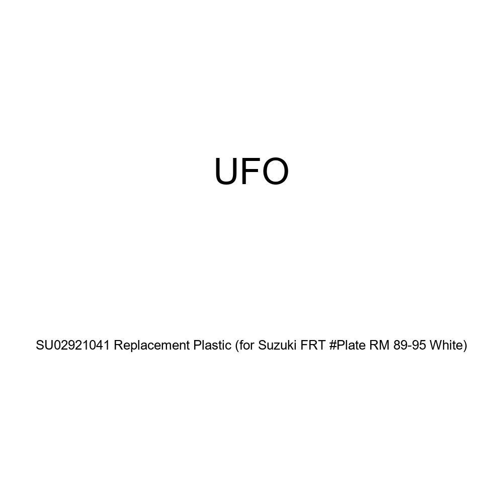 UFO Plastics Front Number Plate SU02921041