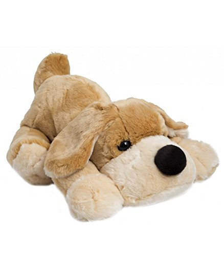 FAO Schwarz Cute & Fluffy Patrick The Pup Stuffed Puppy for Kids Soft & Cuddly Plush Dog Toy for Children, Oversized Bedtime Pal for Toddlers & Infants with Floppy Ears & Big Snout, Tan, 18