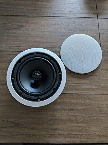 CT Sounds in-Ceiling Surround Sound 8 Inch 2-Way Home Audio Weatherproof Speaker (1 Speaker)